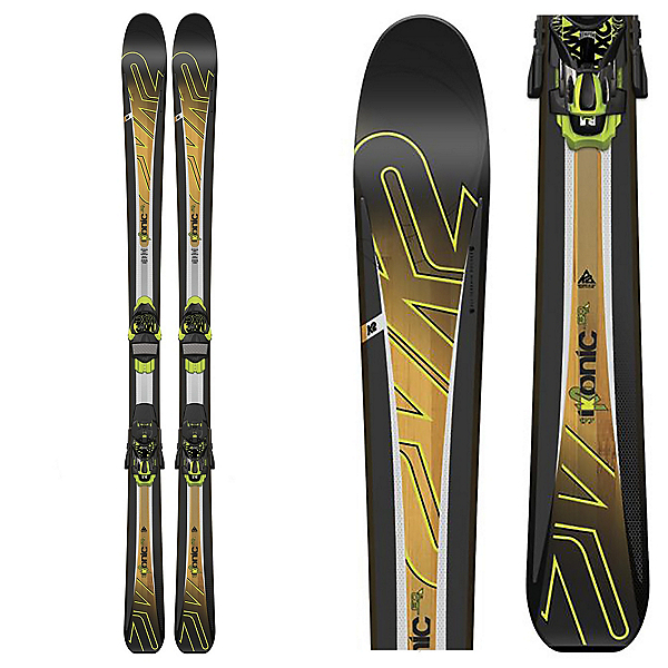 K2 iKonic 80Ti Skis with Marker MXC 12TC Bindings, , 600