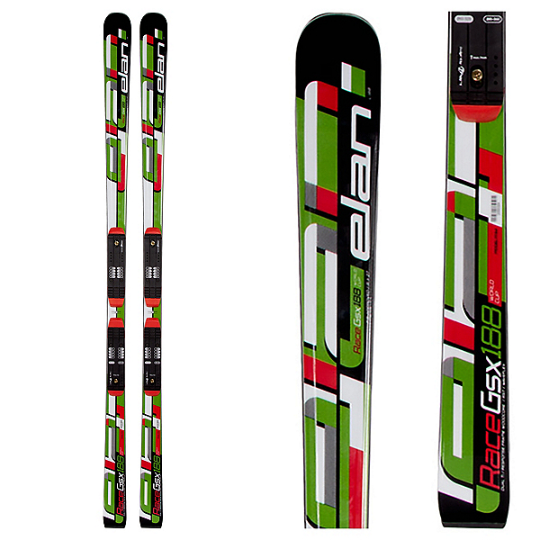 Elan GSX FIS Waveflex Plate Race Skis, , 600