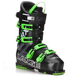Lange RX 130 Ski Boots, Black-Green, 256