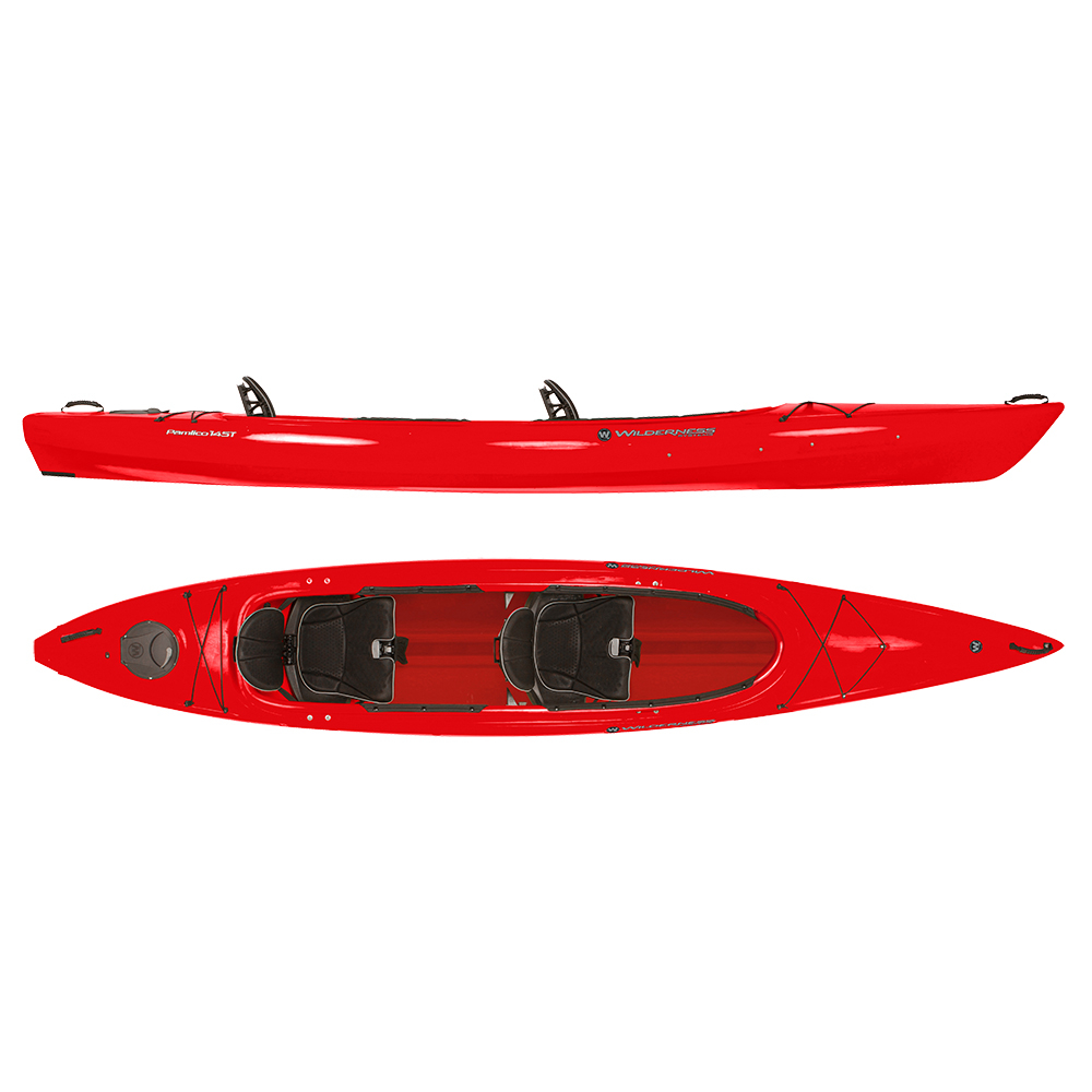 Wilderness Systems Pamlico 145T Tandem Kayak im test