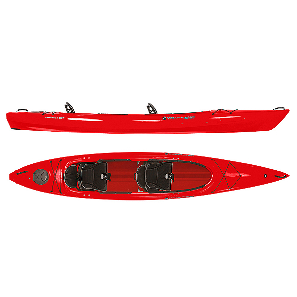 Wilderness Systems Pamlico 145T Tandem Kayak 2019, Red, 600