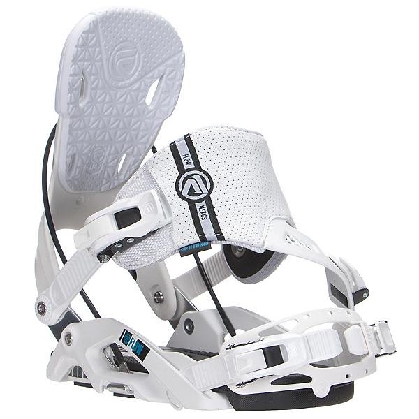Flow Nexus Hybrid Snowboard Bindings, White, 600