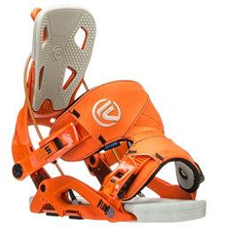 Flow Fuse Snowboard Bindings, Orange, 256
