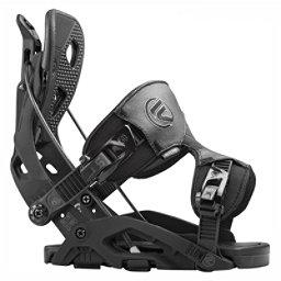 Flow Fuse Snowboard Bindings, Black, 256