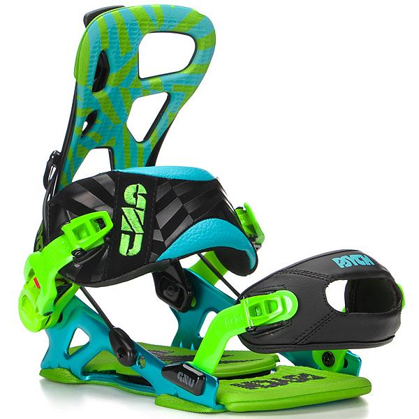 Gnu Psych Snowboard Bindings, , 600
