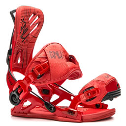 Gnu Mutant Snowboard Bindings, Red, 256