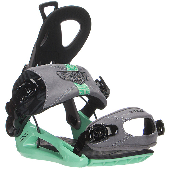 Gnu B-Real Womens Snowboard Bindings, , 600