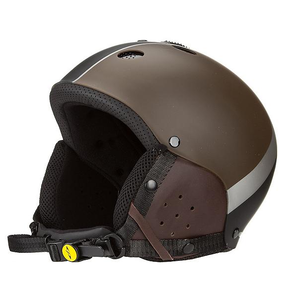 CP HELMETS Blow Vintage S.T. Ski Snowboard Helmet, Brown-Black S.t, 600