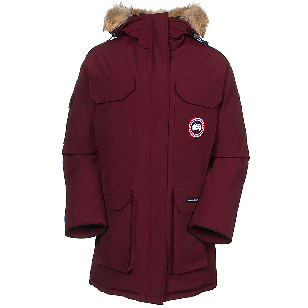 Canada Goose Expedition Parka Womens Jacket, Bordeaux, 600
