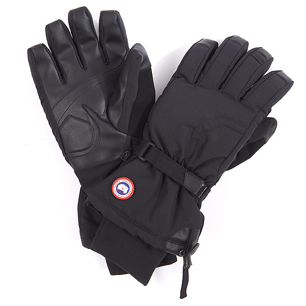 Canada Goose Arctic Down Mens Gloves, Black, 600