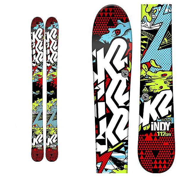 K2 Indy Kids Skis, , 600