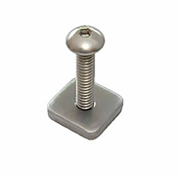 FCS Longboard Screw and Plate 2017, , 256