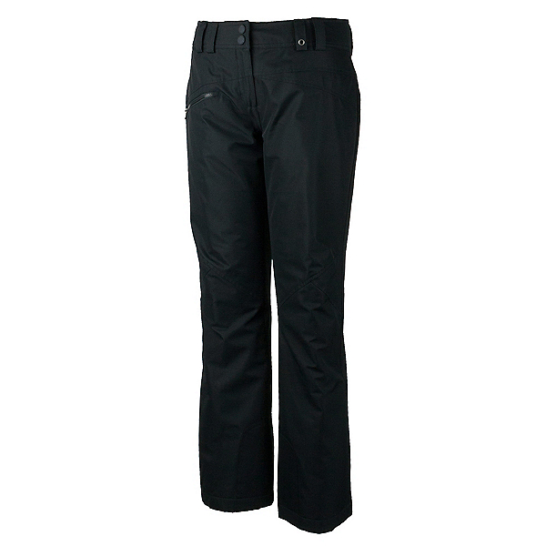 Obermeyer Malta Short Womens Ski Pants, Black, 600