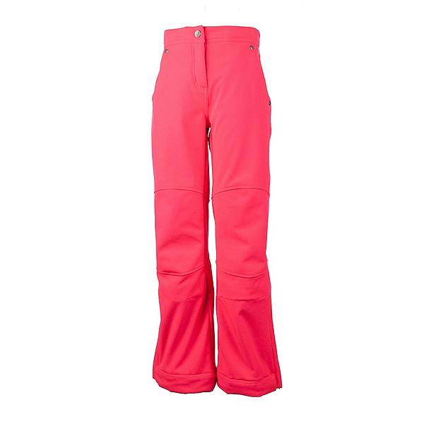 Obermeyer Jolie Softshell Teen Girls Ski Pants, Day Glow Pink, 600