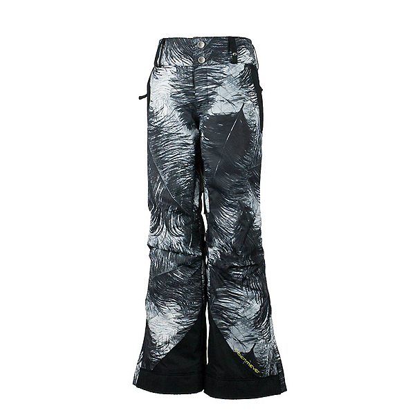 Obermeyer Lea Teen Girls Ski Pants, Feather Print, 600