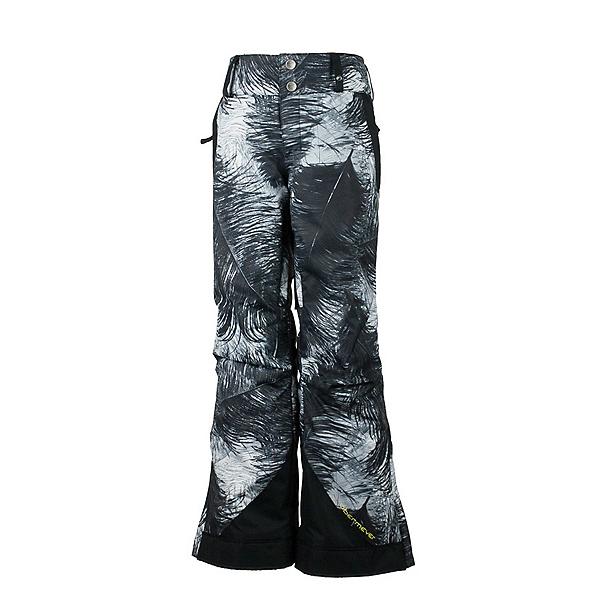 Obermeyer Lea Teen Girls Ski Pants, Feather Print, 600