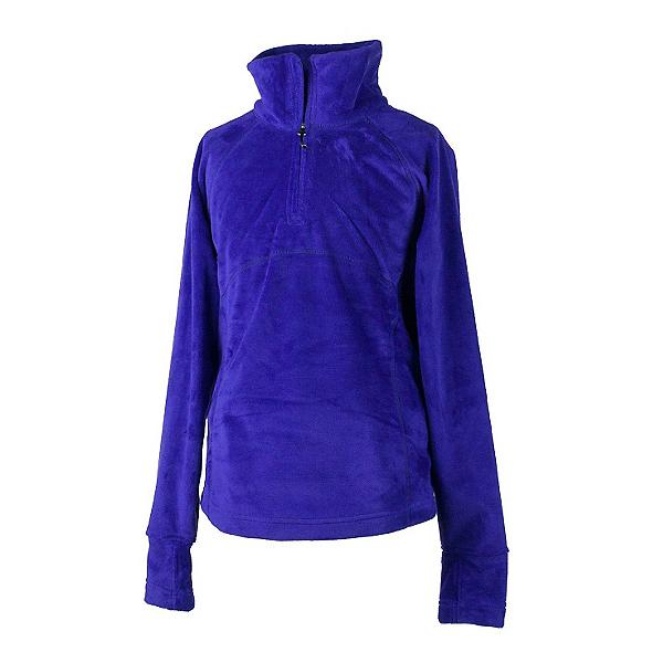 Obermeyer Furry Fleece Top Teen Girls Midlayer, Purple Reign, 600