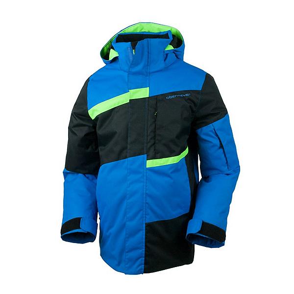Obermeyer Rebel Teen Boys Ski Jacket, Sonic Blue, 600