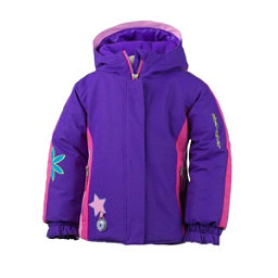 Obermeyer Pico Toddler Girls Ski Jacket, Iris Purple, 256