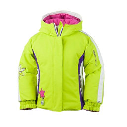Obermeyer Pico Toddler Girls Ski Jacket, Lime, 256