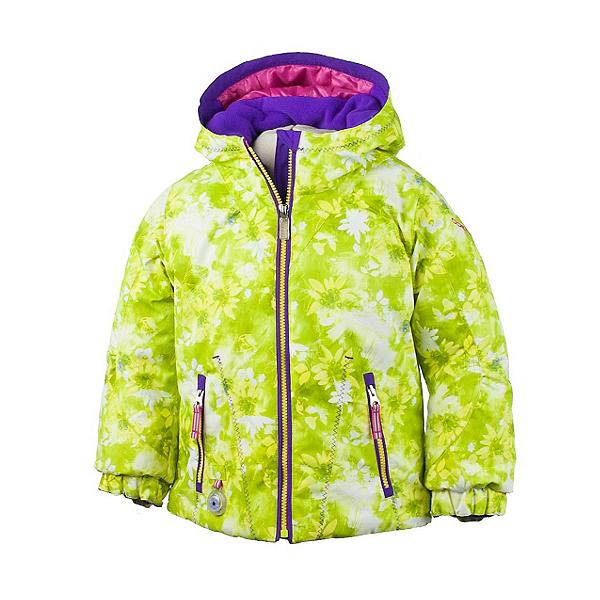 Obermeyer Arielle Toddler Girls Ski Jacket, Lemon Alpen Print, 600