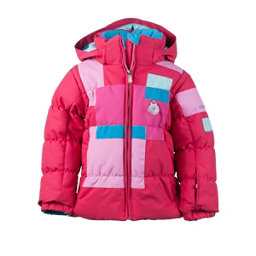 Obermeyer Kitt Toddler Girls Ski Jacket, Rouge, 256