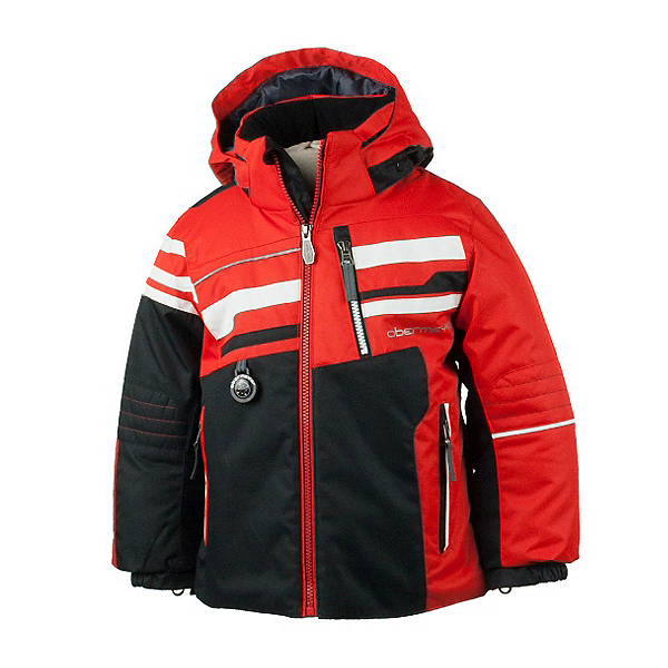 Obermeyer Stryker Toddler Boys Ski Jacket, Lava, 600