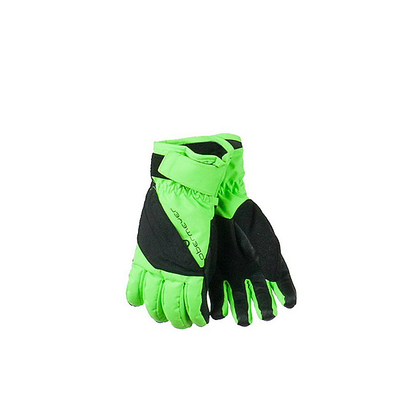 Obermeyer Alpine Kids Gloves, Glowstick, 600