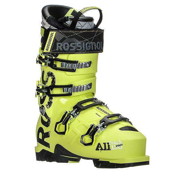 Rossignol AllTrack Pro 130 WTR Ski Boots, Acid Yellow, 600