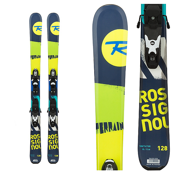Rossignol Terrain Boy Jr. Kids Skis with Xelium 70 Bindings, , 600