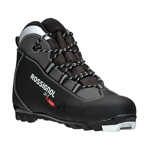 Rossignol X-1 NNN Cross Country Ski Boots, Black, 600