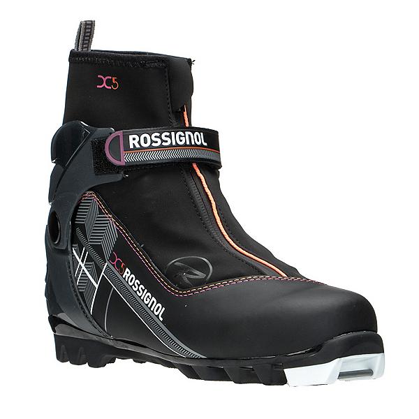 Rossignol X-5 FW Womens NNN Cross Country Ski Boots, Black, 600