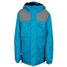 686 Approach Boys Snowboard Jacket, Blue, 256