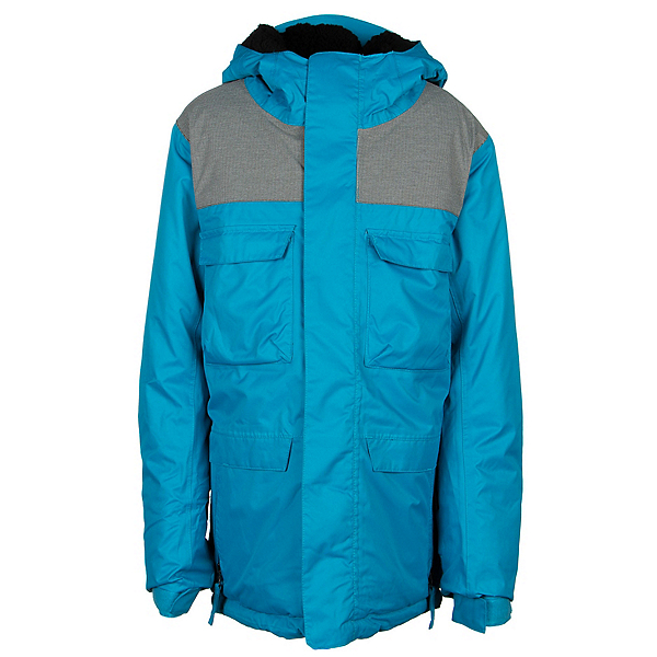 686 Approach Boys Snowboard Jacket, Blue, 600
