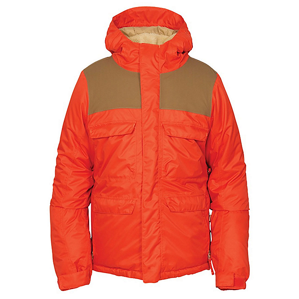 686 Approach Boys Snowboard Jacket, Burnt Orange, 600