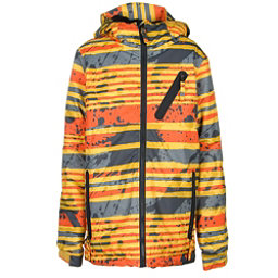 686 Trail Boys Snowboard Jacket, Yellow Stripe, 256