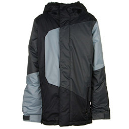 686 Blaze Boys Snowboard Jacket, Black Colorblock, 256