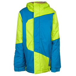 686 Blaze Boys Snowboard Jacket, Lime Colorblock, 256
