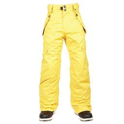 686 All Terrain Kids Snowboard Pants, Yellow, 256