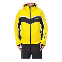 Volkl Yellow Rush Mens Insulated Ski Jacket, Yellow-Black, 256