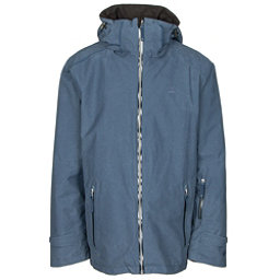 Volkl Khula Mens Insulated Ski Jacket, Denim Wax, 256