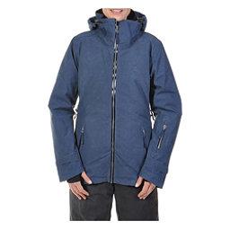 Volkl Manu Womens Insulated Ski Jacket, Denim Wax, 256