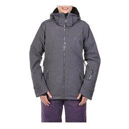 Volkl Manu Womens Insulated Ski Jacket, Metal Wax, 256