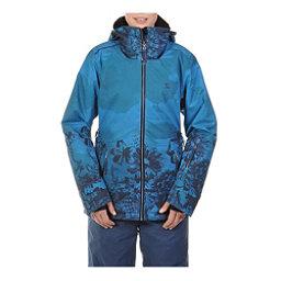 Volkl Manu Womens Insulated Ski Jacket, Wild Thing Denim Print, 256