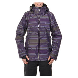 Volkl Manu Womens Insulated Ski Jacket, Paloma Olive Unplugged, 256