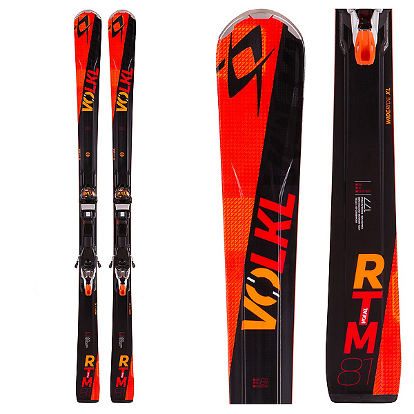 Volkl RTM 81 Skis with Marker IPT WR XL 12.0 TCX Bindings, , 600