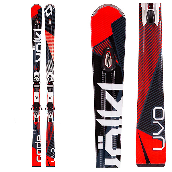 Volkl Code UVO Skis with Marker xMotion 12.0 Bindings, , 600