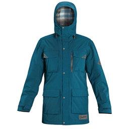 Dakine Mansfield Mens Shell Ski Jacket, Moroccan Blue, 256