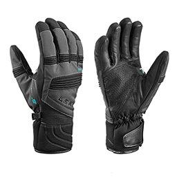 Leki Elements Palladium S Gloves, Charcoal, 256