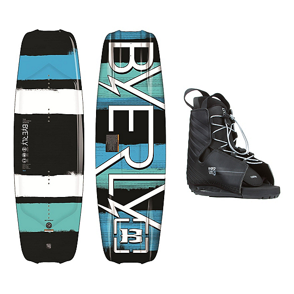 Byerly Monarch Wakeboard With Hyperlite Frequency Bindings, , 600